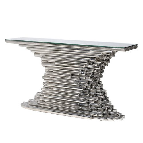 Steel Tube Console Table