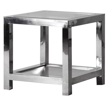 Steel End Table