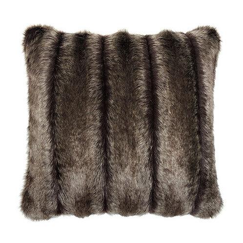 Orgean Faux Fur Feather Cushion 40cm x 40cm