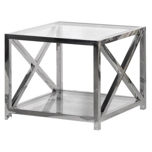 X Frame Side Tables