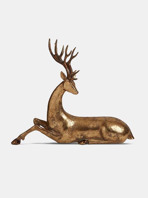 Gold 34cm Deer