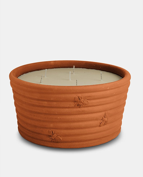 Extra Large 7 Wick Terracota Candle