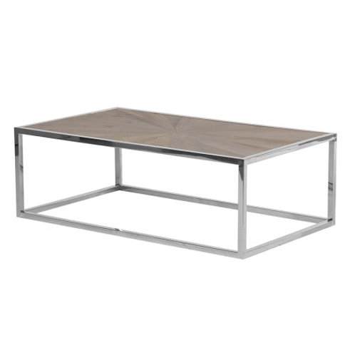 Parquet Top Open Coffee Table
