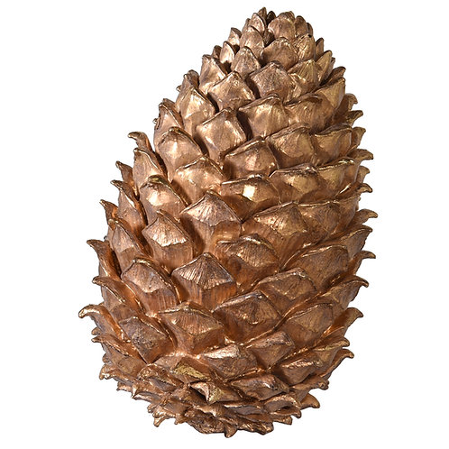 Large Gold Pinecone