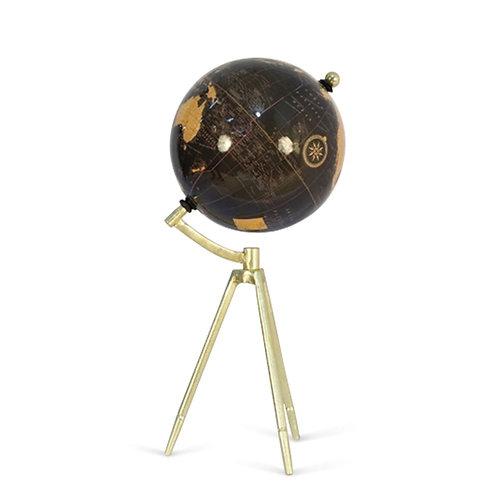Globe - Antique Brass