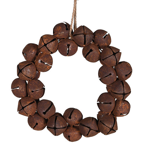 Small Rustic Bell Wreath