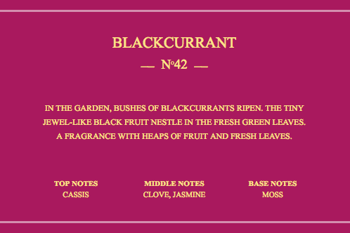 True Grace Blackcurrant Leaves Collection