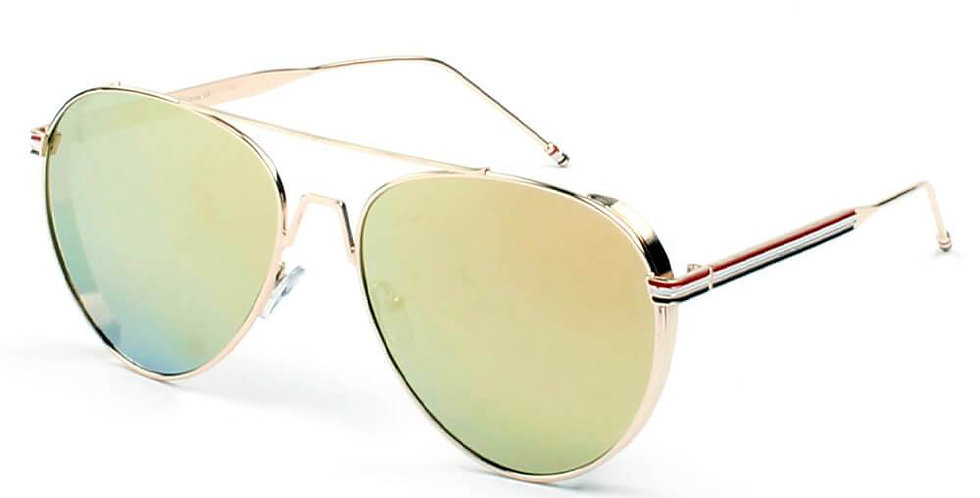 EASTON | D36 - Classic Patriotic Teardrop Aviator Sunglasses