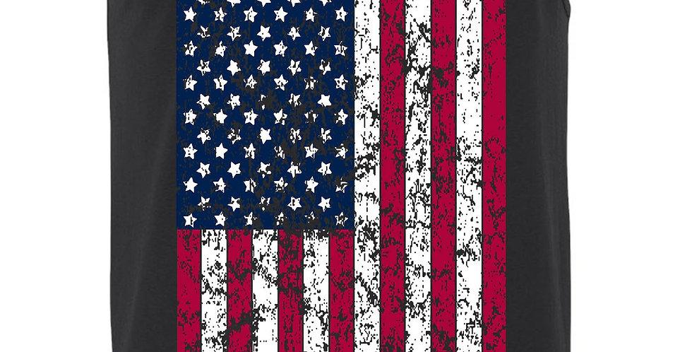 Men's Jumbo USA Flag Tank Top Shirt