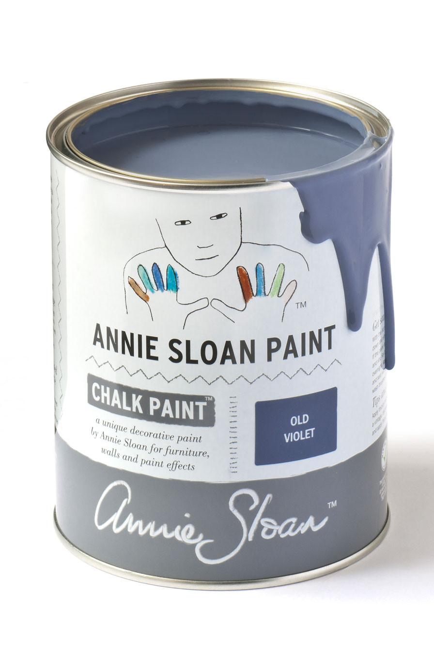 annie sloan old violet