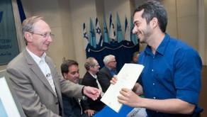 Roei Remez won Dan David Prize for Young Researchers, April 2016