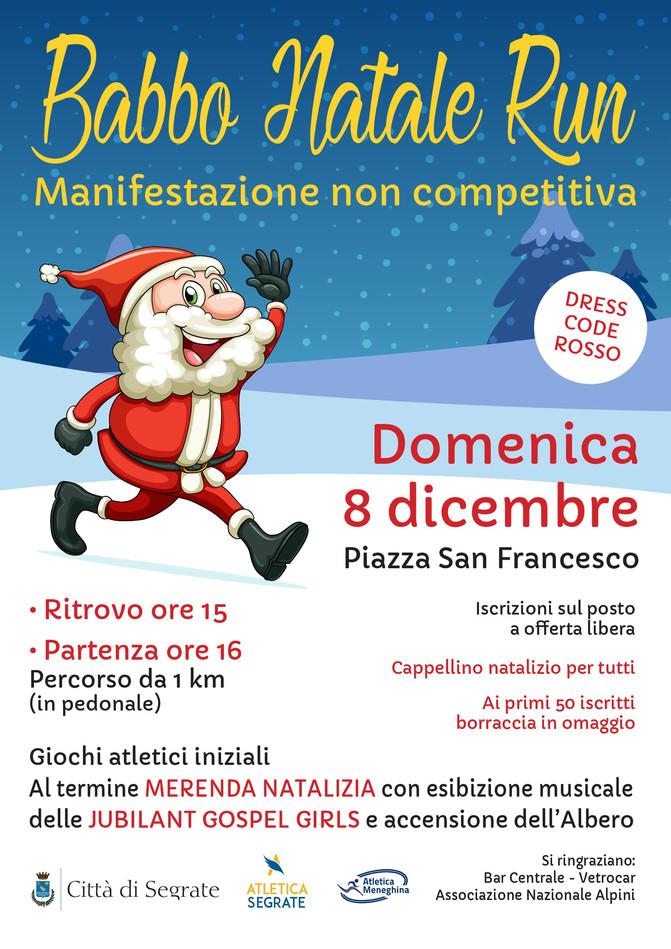 Domenica 8 Dicembre: Babbo Natale Run!