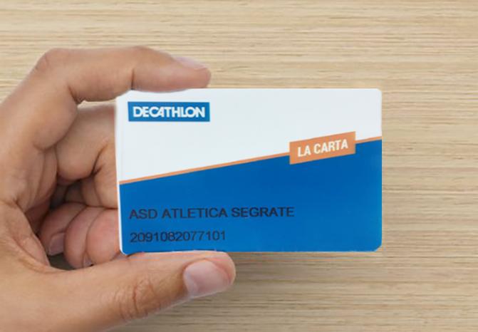 Carta Club Decathlon: collegati con la tua società!