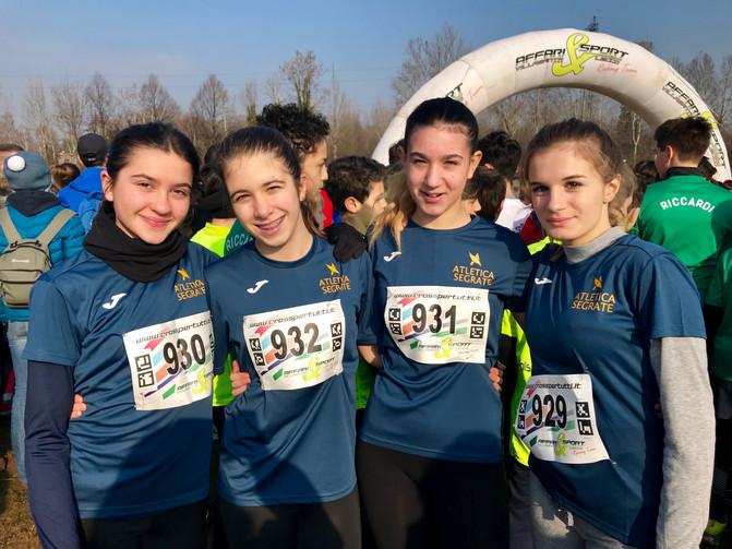 Prima gara ufficiale per gli atleti di Atletica Segrate!