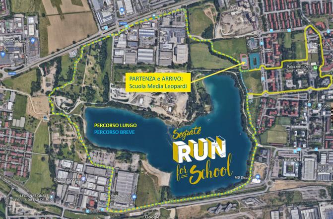 A Segrate torna la Run for School: domenica 9 Settembre 2018