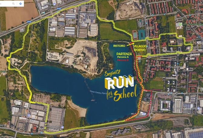 Guarda il percorso della Segrate Run for School: via spettiamo domenica mattina al Centro Parco!