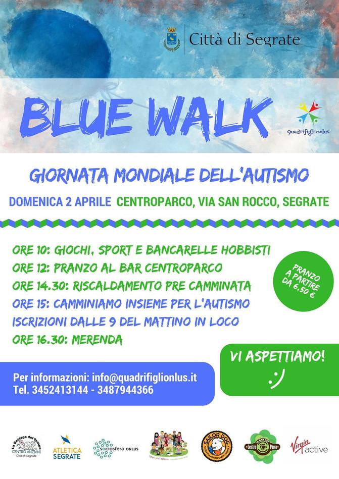 Blue Walk - Camminiamo per l'autismo: Domenica 2 Aprile 2017 al CentroParco
