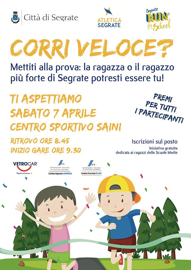Fidal Lombardia Calendario.Sabato 7 Aprile Il Ragazzo E La Ragazza Piu Veloce Di Segrate
