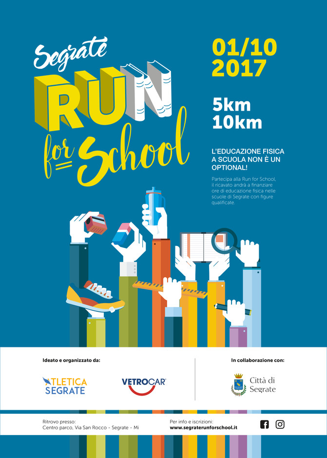 Segrate Run for School: corri per la tua scuola!