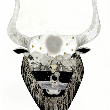 Minotaur original artwork