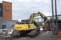 Old Salvation Army centre comes down.jpg
