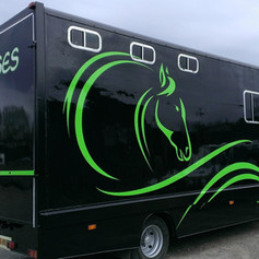 Horse Lorry Decals