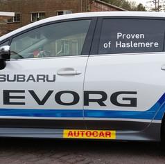 Subaru BTCC Replica