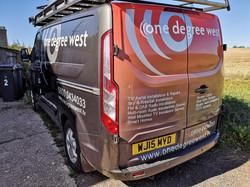 One Degree West Custom Van