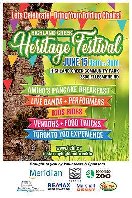 highlandcreek heritage festival