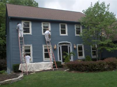 Exterior painting 1