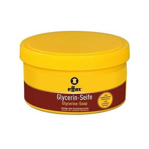 EFFAX savon glycériné en pot de 300ml avec son éponge