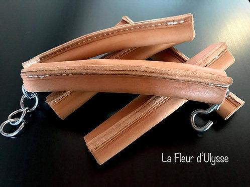 Protège gourmette en cuir