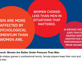 Women Respond Better Than Men to Competitive Pressure