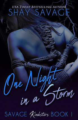 Autographed Copy of One Night in a Storm