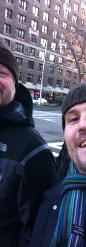 Runi und Daniel in New York