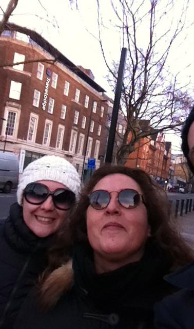 with Rosetta und Mariangela in London..