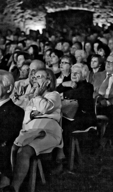 Audience in Imola/Italy...