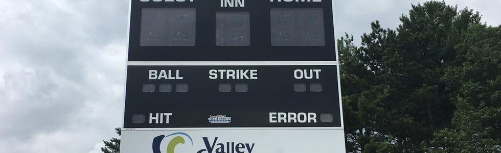 Turf Field Scoreboard