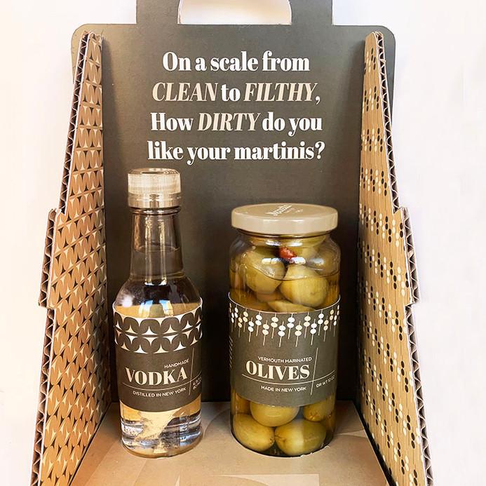 Filthy Martini Kit