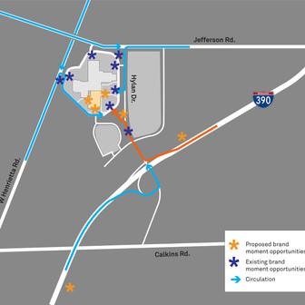 Circulation Plan Drawings