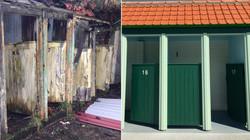 Comparison of Lido Cabins Restored