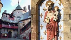 Castell Coch Statue Detailing