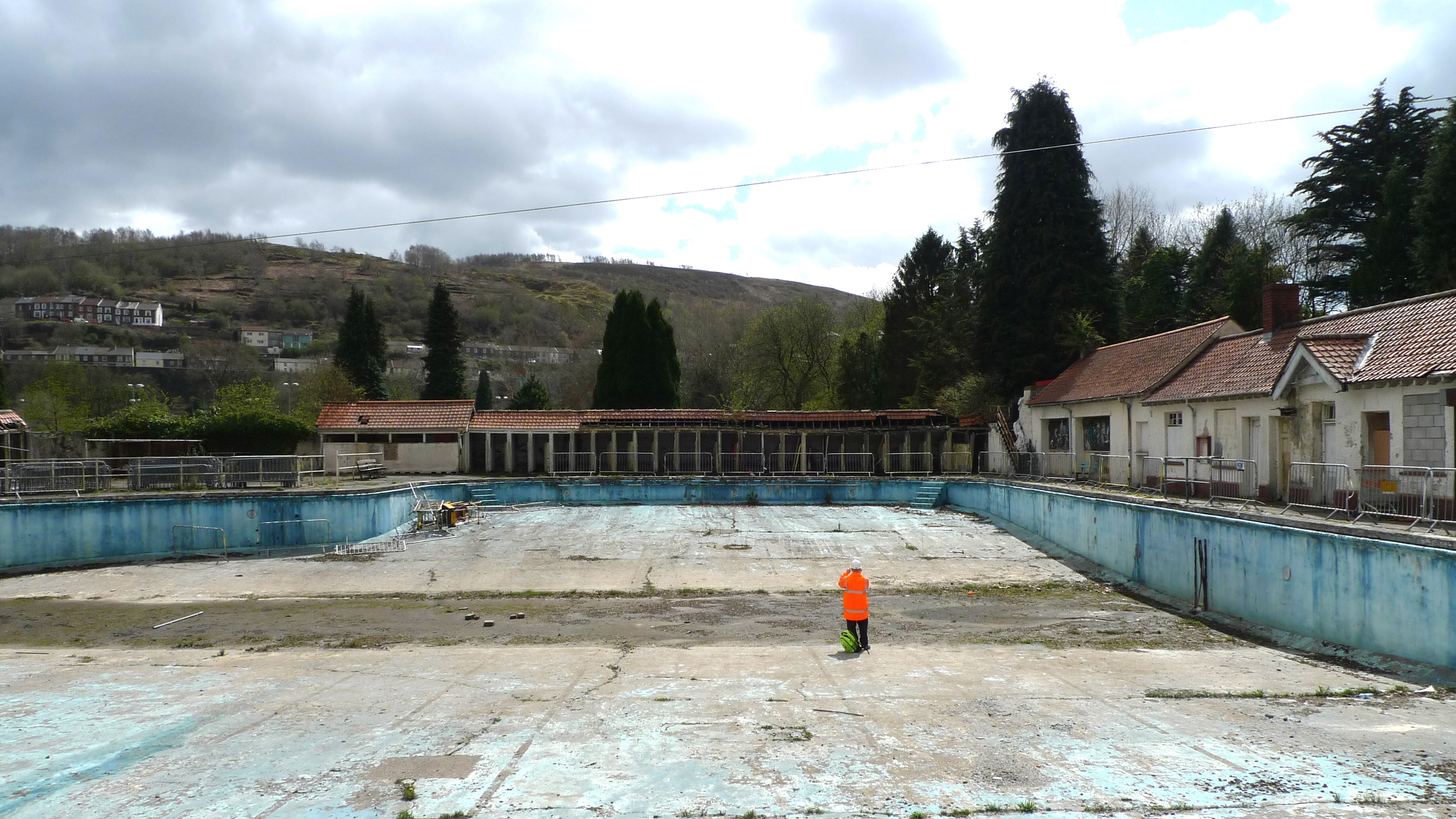 Lido Pool Before Restoration