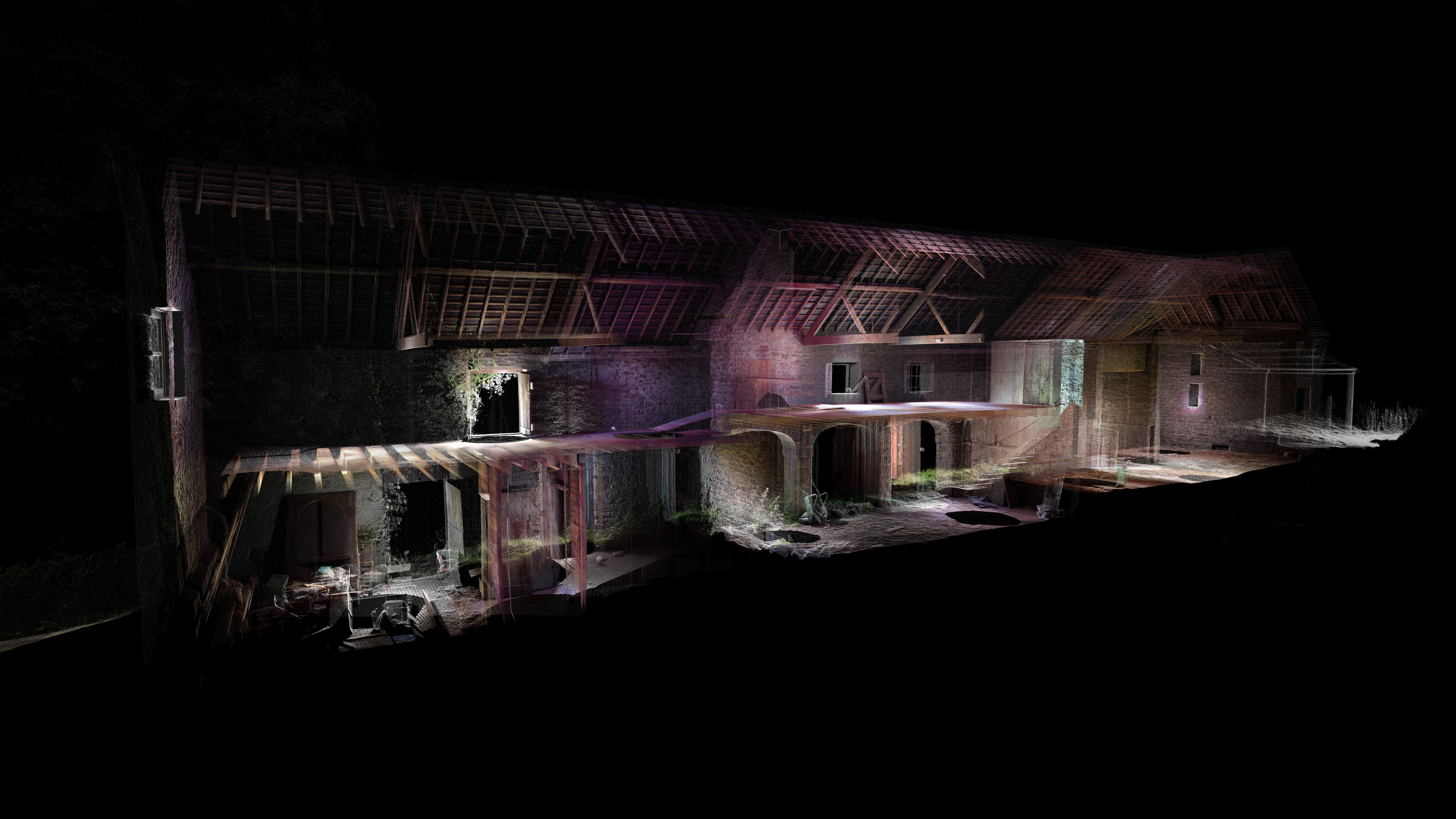 3D Survey View of the Interior