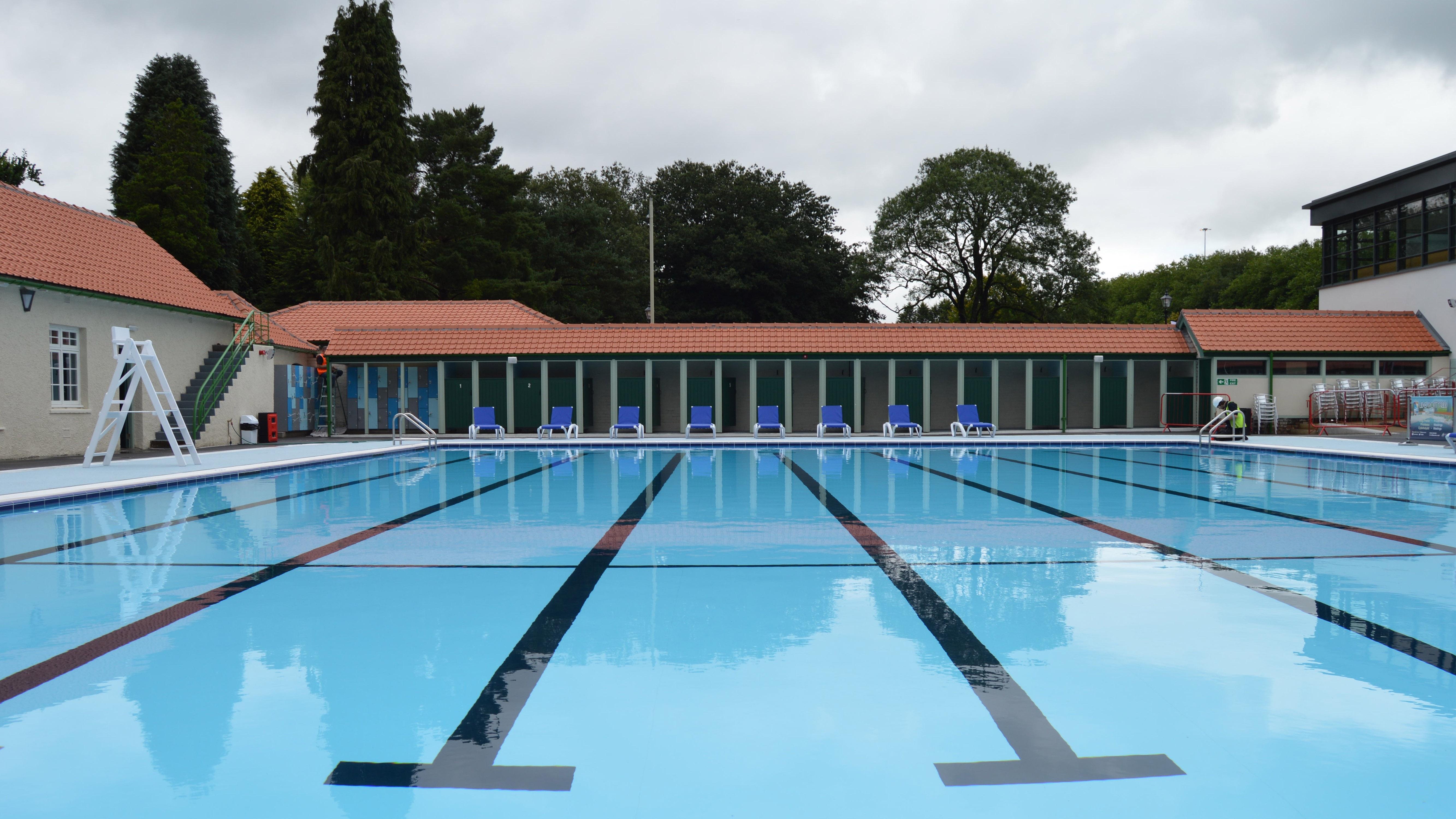 Restored Lido Pool