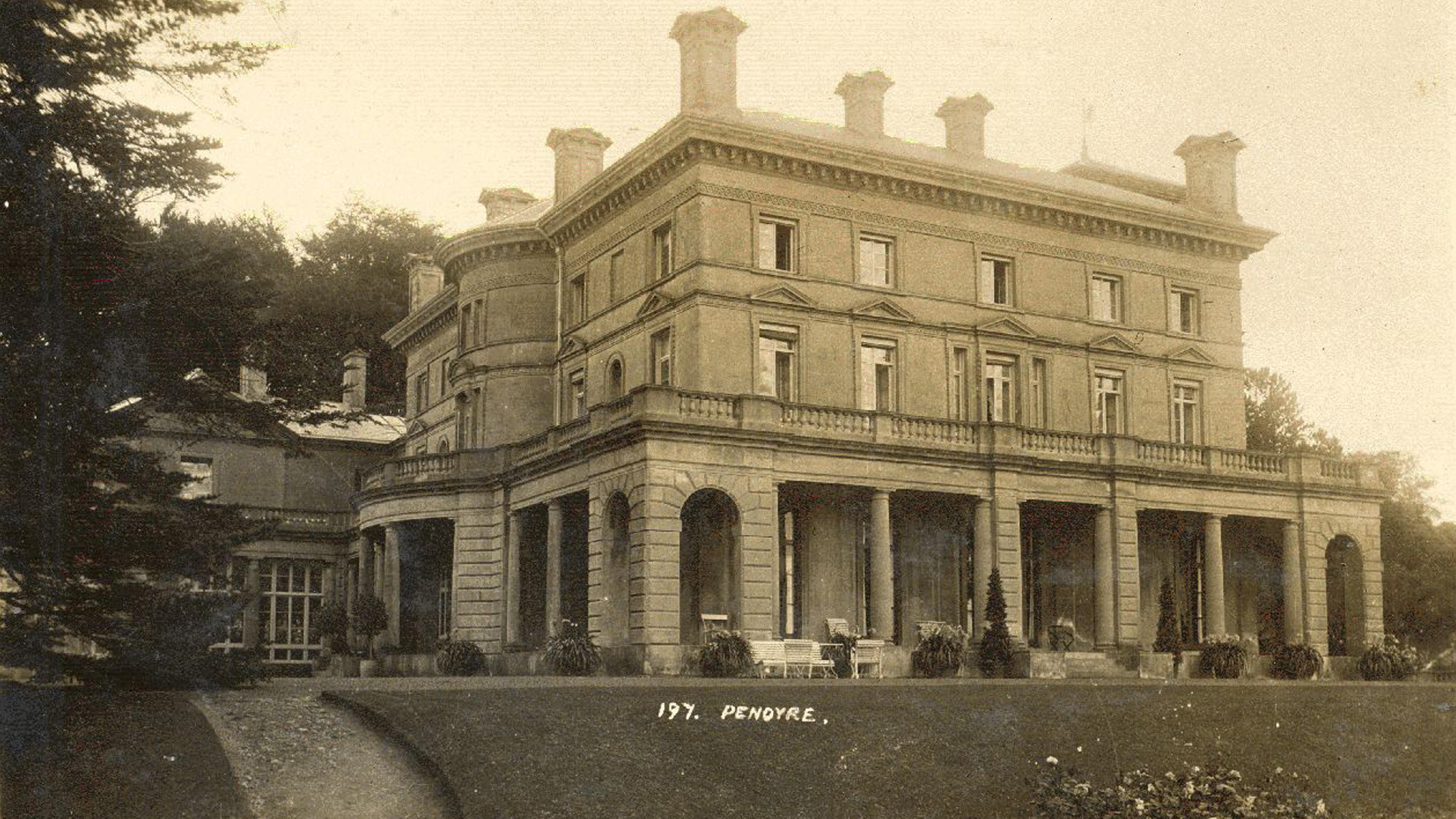 Historic Image of Georgian Mansion