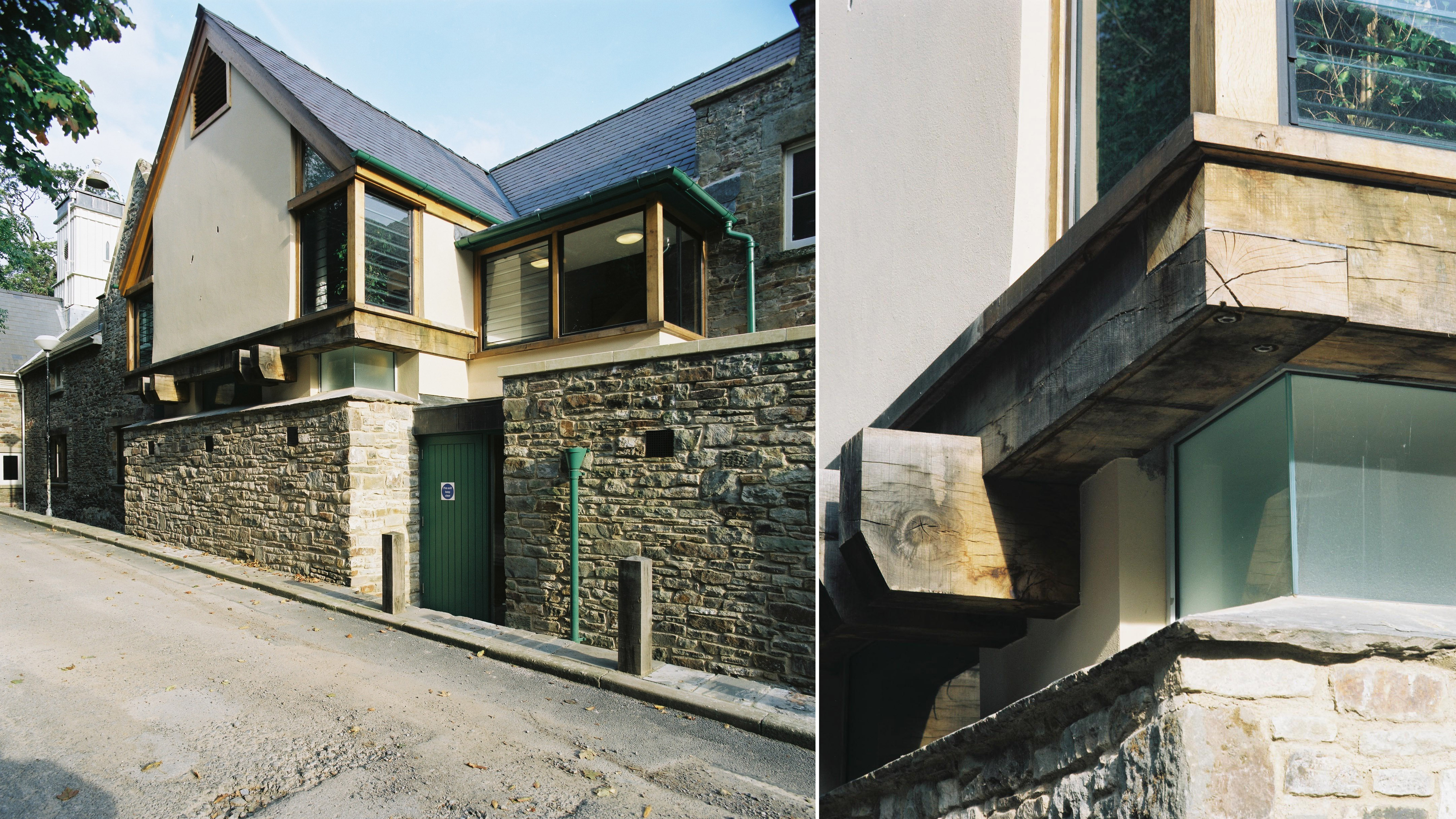 Modern Timber Constructed Extension