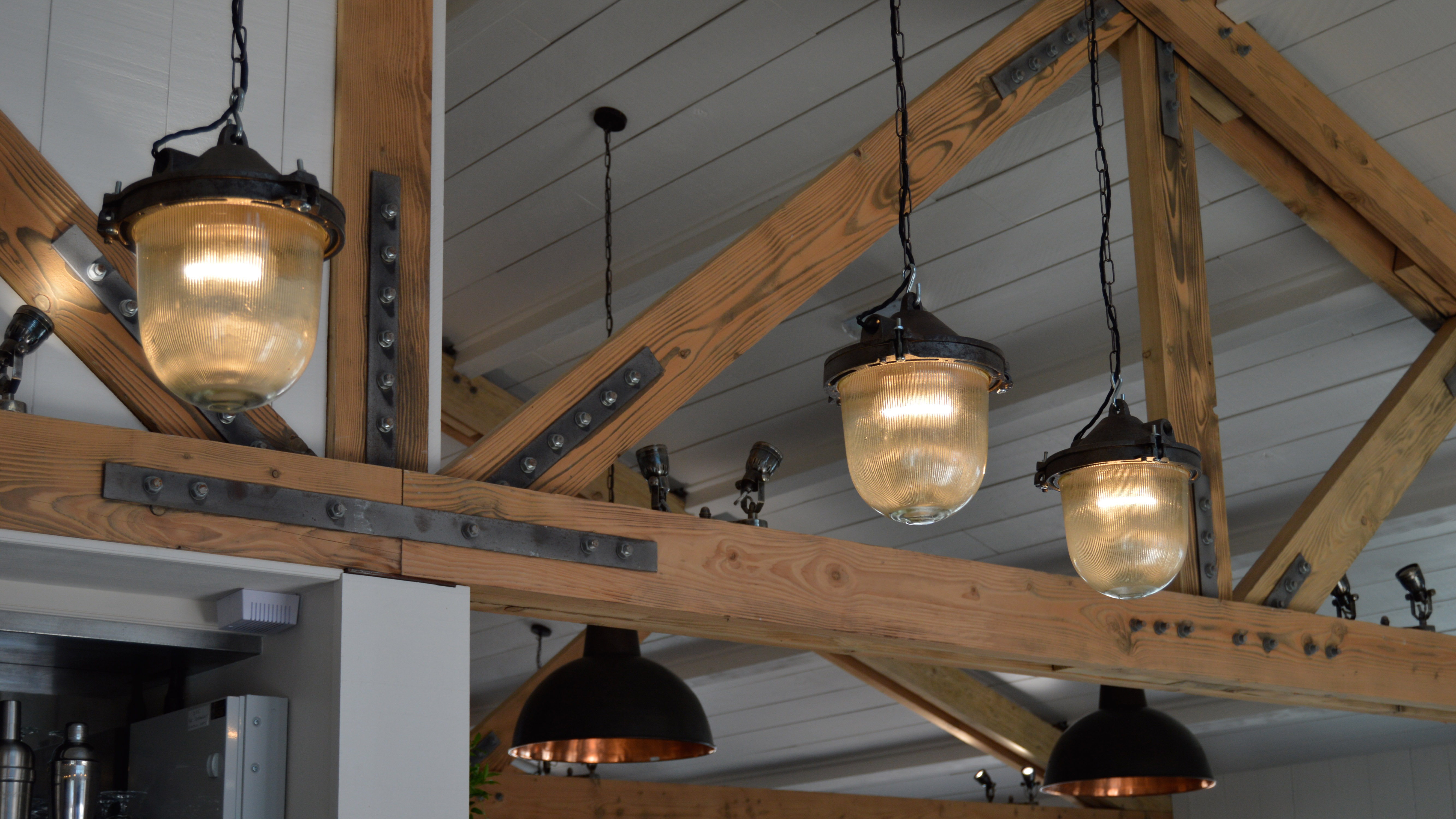 Lighting Detail & Timber Structure