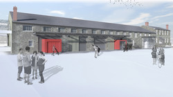 Render of Proposed Community Hub