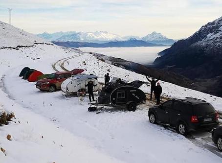 Disfruta con tu Minicaravana nueva en la nieve